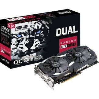 Asus Grafikkarte AMD Radeon RX 580 Dual Overclocked 8 GB GDDR5-RAM PCIe x16 HDMI®, DVI, DisplayPort