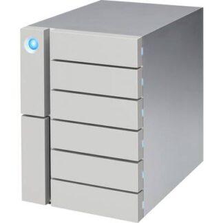 LaCie 6big 84 TB Externes Multi-Festplatten-System Thunderbolt 3, USB 3.2 Gen 2 (USB 3.1) Silber STFK84000400