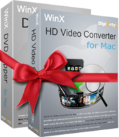 WinX DVD Video Converter Pack für 1 Mac
