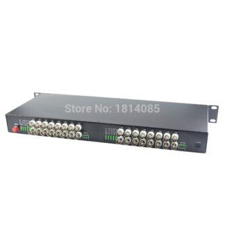 32channel Digital Video Optical Transceiver Single-fiber single-mode fiber optic converter FC 20KM