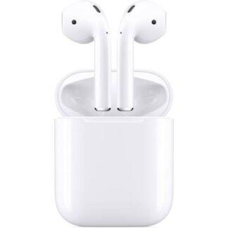 Apple Air Pods Generation 2 + Charging Case Bluetooth® In Ear Kopfhörer In Ear Headset Weiß