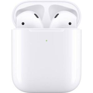 Apple Air Pods Generation 2 + Wireless Charging Case Bluetooth® In Ear Kopfhörer In Ear Headset Weiß