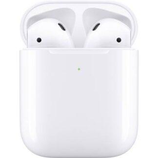Apple Air Pods Generation 2 + Wireless Charging Case Bluetooth® In Ear Kopfhörer In Ear Headset Weiß