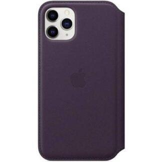 Apple Leather Folio iPhone 11 Pro Leder Folio Apple iPhone 11 Pro Violett