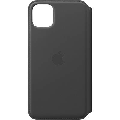 Apple Leder Folio Apple iPhone 11 Pro Max Schwarz
