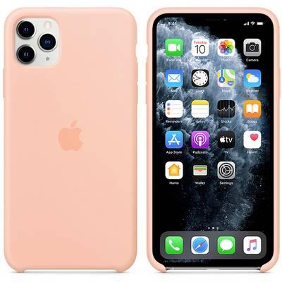 Apple iPhone 11 Max Silicone Case Silikon Case Apple iPhone 11 Pro Max Grapefruit