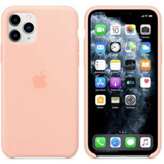 Apple iPhone 11 Pro Silicone Case Silikon Case Apple iPhone 11 Pro Grapefruit
