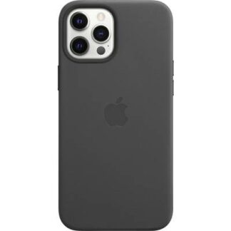 Apple iPhone 12 Pro Max Leder Case Leder Case Black