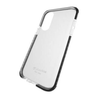 Cellularline Tetra Force Cover Apple iPhone XR Schwarz (transparent)
