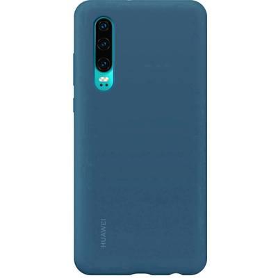 HUAWEI Silicone Car Case Backcover Huawei P30 Blau