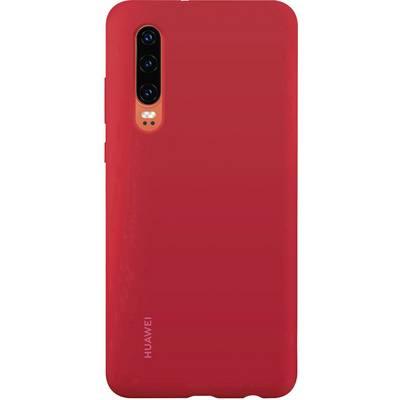 HUAWEI Silicone Car Case Backcover Huawei P30 Rot