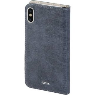 Hama Guard Case Flip Case Apple iPhone X Blau
