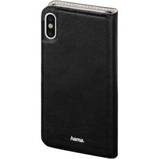 Hama Guard Case Flip Case Apple iPhone X Schwarz