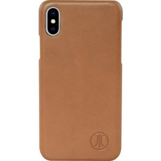 JT Berlin Kreuzberg Backcover Apple iPhone XS Max Cognac