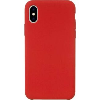 JT Berlin Steglitz Silikon Case Apple iPhone XS Max Rot