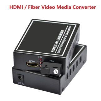 SC port HDMI audio and video optical end machine HDMI fiber optic transmitter Fiber video media converter fiber extender 1080P