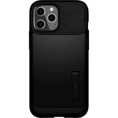 Spigen Slim Armor Case Apple iPhone 12 Pro Max Schwarz
