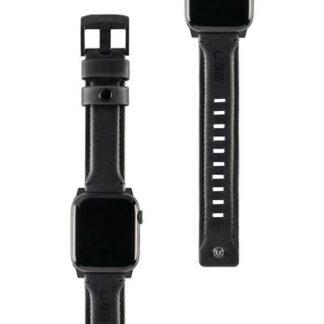 uag Leather Armband 42 mm, 44 mm Schwarz