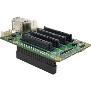 Allnet SATA HAT Quad NAS Erweiterungsmodul Passend für: Raspberry Pi