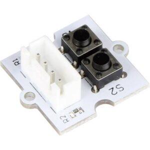 Buttonmodul mit 2 Knöpfen, JST-HX254 Stecker LB-Button2 pcDuino, Arduino, Raspberry Pi®