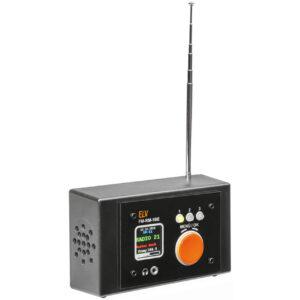ELV Bausatz FM-Receiver Modul mit Si4705, FM-RM1 inkl. Bedien- und Anzeigeeinheit FM-RM1BE