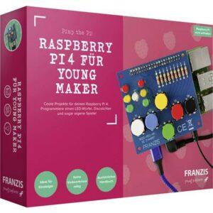 Franzis Verlag 67126 Programmieren, Raspberry Pi Programmierplatine ab 14 Jahre