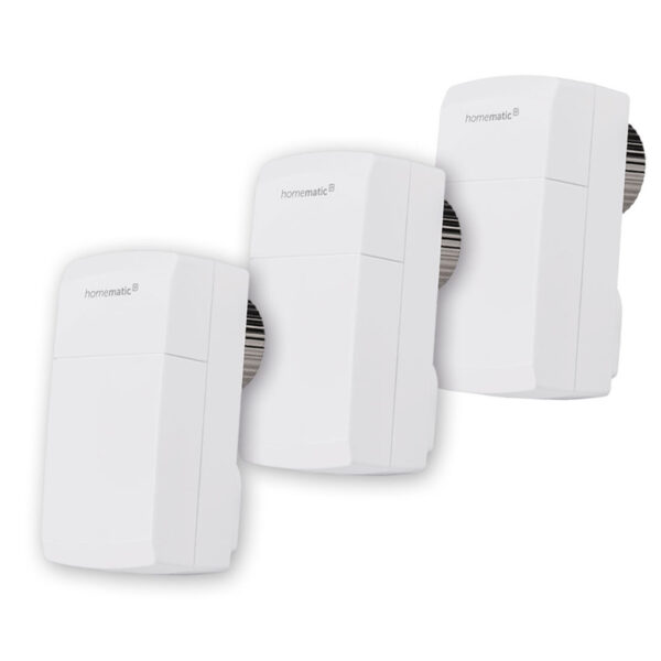 Homematic IP Smart Home 3er Set Heizkörperthermostat kompakt HmIP-eTRV-C inkl. Demontageschutz