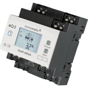 Homematic IP Smart Home Funk-Schaltaktor für Hutschienenmontage HmIP-DRSI4, 4-fach