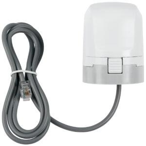 Homematic IP Smart Home Stellantrieb - motorisch für Fussbodenheizung HmIP-VDMOT, inkl. Adapter VA80