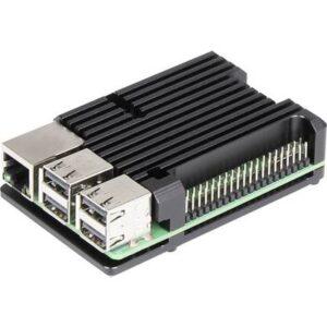 Joy-it ARMOR Case BLOCK SBC-Gehäuse Passend für: Raspberry Pi inkl. passiven Kühler Schwarz