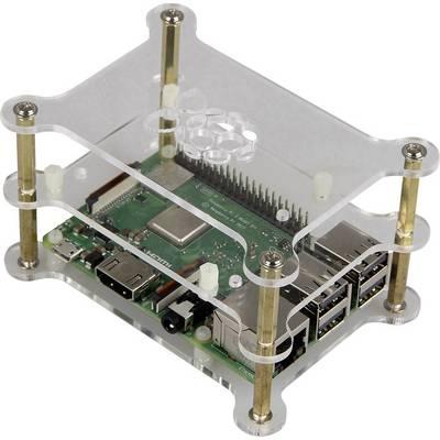 Joy-it Makercase V2 SBC-Gehäuse Passend für: Raspberry Pi Acrylglas klar