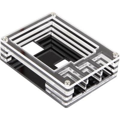 Joy-it Makercase V3 SBC-Gehäuse Passend für: Raspberry Pi Acrylglas klar