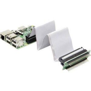 Joy-it RB-CON+01 GPIO-Kabel Raspberry Pi [40x GPIO-Buchse - 40x GPIO-Buchse, GPIO-Stecker] 15.00 cm Grau