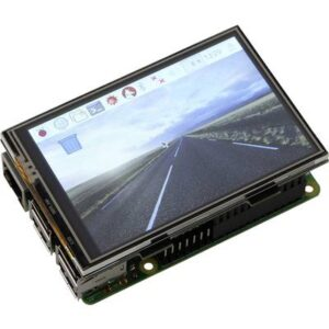 Joy-it RB-Display Kit 3.5 Touchscreen-Modul 8.9 cm (3.5 Zoll) 480 x 320 Pixel Passend für: Raspberry Pi inkl. Gehäuse,