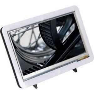 Joy-it RB-LCD-7-2Case Display-Gehäuse Passend für: Raspberry Pi Weiß