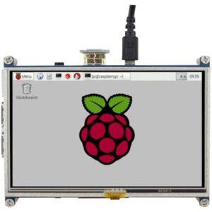 Joy-it RB-LCD5 Touchscreen-Modul 12.7 cm (5 Zoll) 800 x 480 Pixel Passend für: Raspberry Pi inkl. Touchpen