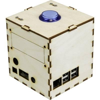 Joy-it Talking Pi Maker-Case SBC-Gehäuse Passend für: Raspberry Pi Holz