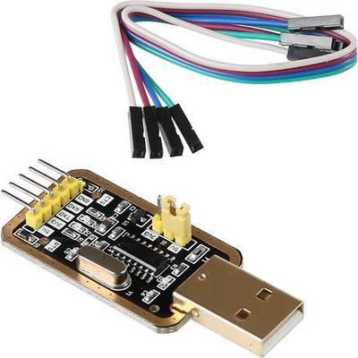 Joy-it sbc-ttl Jumper-Kabel Raspberry Pi [1x USB 2.0 Stecker A - 4x Drahtbrücken-Buchse] 20.00 cm