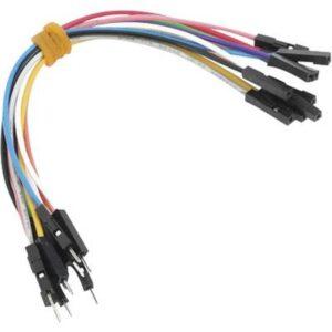 MikroElektronika MIKROE-512 Jumper-Kabel Raspberry Pi, Banana Pi, Arduino [10x Drahtbrücken-Stecker - 10x