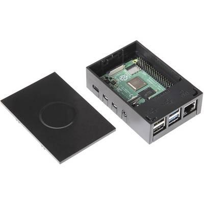 RS PRO 4B MFG Black SBC-Gehäuse Passend für: Raspberry Pi Schwarz