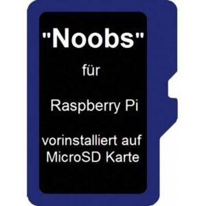 Raspberry Pi® Noobs Betriebssystem 32 GB Passend für: Raspberry Pi