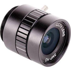 Raspberry Pi® RPIZ CAM 6MM WW Weitwinkel-Kameraobjektiv Passend für: Raspberry Pi