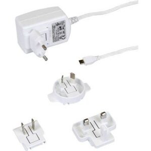 Raspberry Pi® T598DV Steckernetzteil, Festspannung Passend für: Raspberry Pi Ausgangsstrom (max.) 2500 mA 1 x USB 2.0