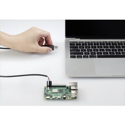 Renkforce USB/TTL Jumper-Kabel Raspberry Pi [1x USB 2.0 Stecker A - 4x Drahtbrücken-Buchse] 1.00 m Schwarz