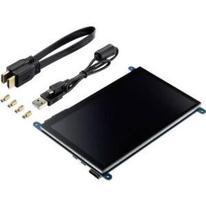 TRU COMPONENTS Touchscreen-Modul 17.8 cm (7 Zoll) 800 x 480 Pixel Passend für: Raspberry Pi, Banana Pi