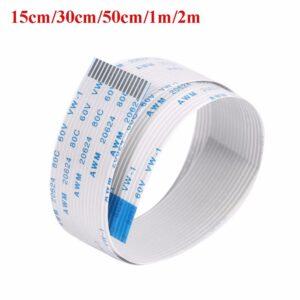 15CM 30CM 50CM 1M 2M Extention Flex Cable For Raspberry Pi Camera 15 Pin FFC Wire For Raspberry Pi 3 Model B+ / 3 / 2