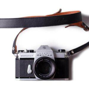 Adjustable Leather Camera Strap | Harber London