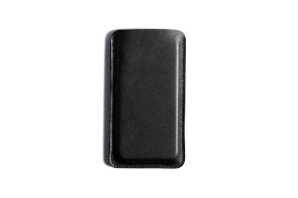 Black Edition - Leather Smartphone Sleeve Wallet | Harber London