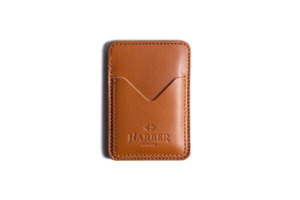 Classic Leather Card Holder 3 Pocket   Harber London