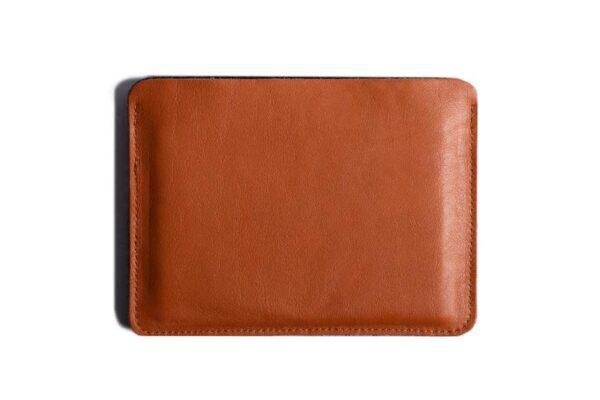 Flat Leather Passport Holder | Harber London